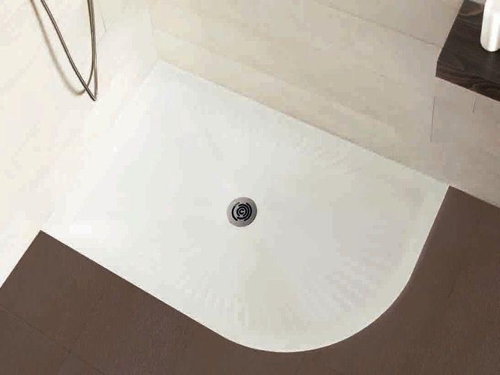 receveur de douche quart de cercle