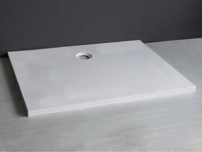 receveurs de douches longueur 100 receveur de douche 100 cm en r sine avec sortie en lat ral. Black Bedroom Furniture Sets. Home Design Ideas