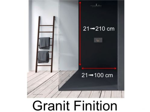 receveurs de douches panneau mural panneaux muraux en. Black Bedroom Furniture Sets. Home Design Ideas