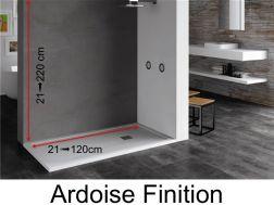 panneaux muraux en r sine pour receveurs de douches de salle de bains. Black Bedroom Furniture Sets. Home Design Ideas