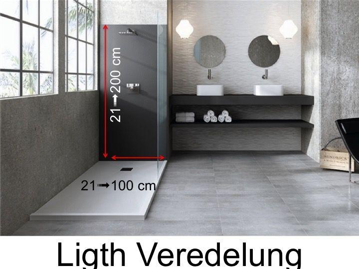 receveurs de douches accessoires panneaux muraux en. Black Bedroom Furniture Sets. Home Design Ideas
