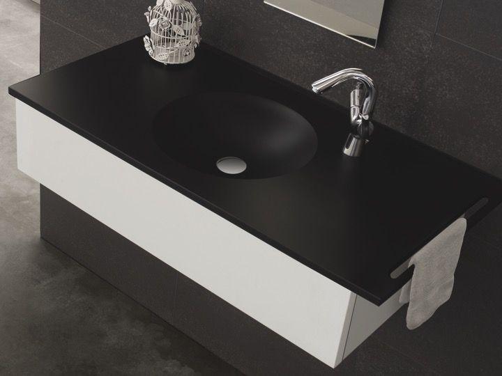 vasques largeur 70 plan vasque suspendue ou encastrer largeur 70 cm en r sine circular. Black Bedroom Furniture Sets. Home Design Ideas