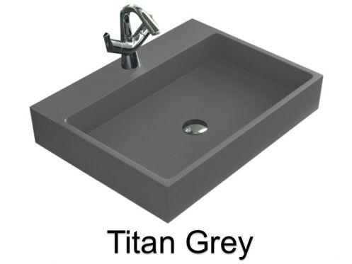 vasques largeur 60 lavabo largeur 60 cm profondeur 46. Black Bedroom Furniture Sets. Home Design Ideas