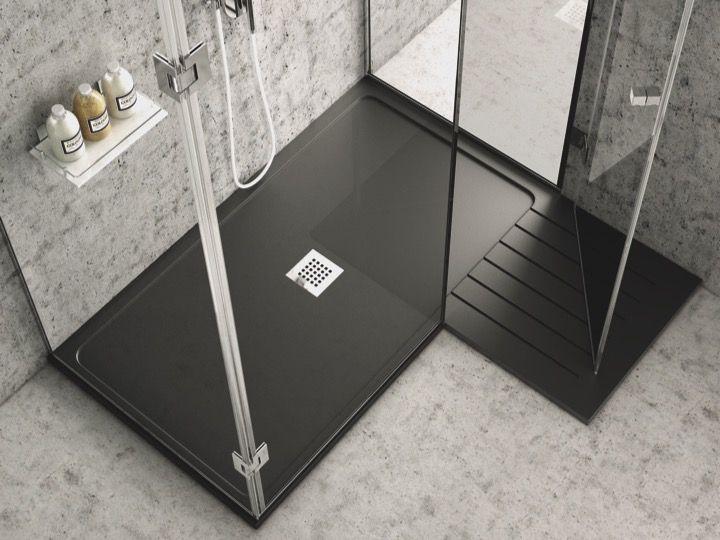 receveurs de douches longueur 120 receveur de douche 120 cm en r sine avec zone de s chage. Black Bedroom Furniture Sets. Home Design Ideas