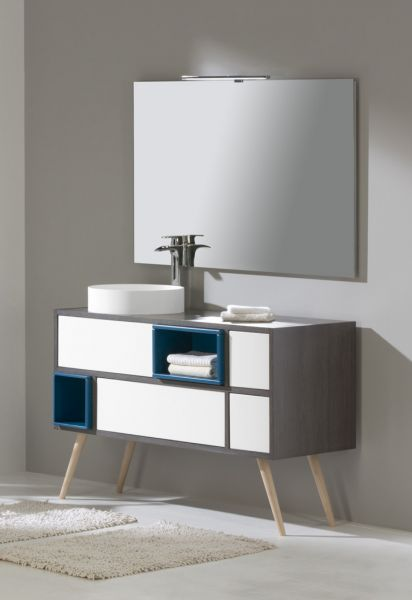 meubles lave mains robinetteries meuble teck meuble de salle de bain au design original de. Black Bedroom Furniture Sets. Home Design Ideas