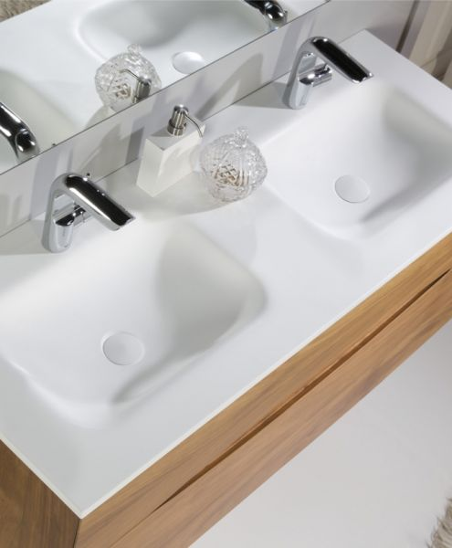 Meubles lave mains robinetteries meubles sdb meuble de salle de bain en b - Meuble salle de bain 130 cm ...
