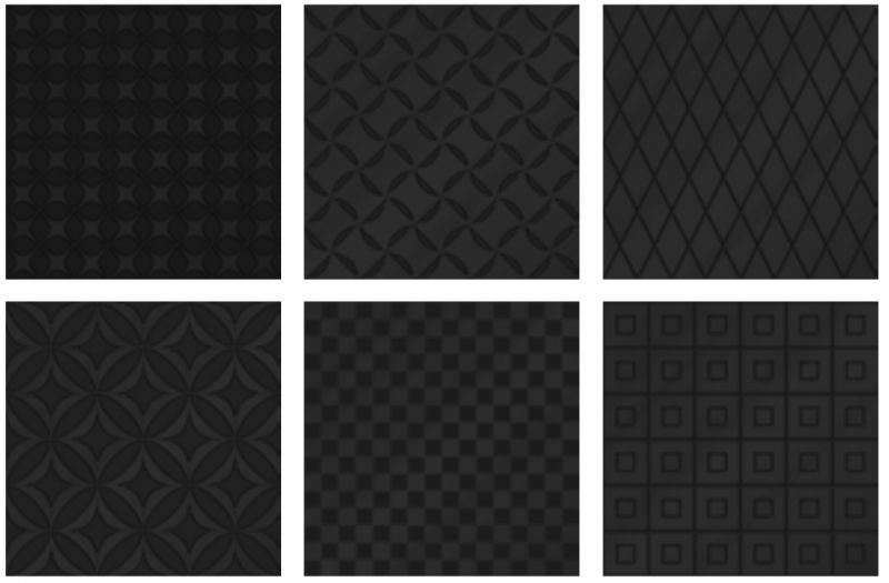 Carrelage sol et mur c ciment imitation black white decor noir 20 x 20 cm carrelage - Carreaux sol noire ...