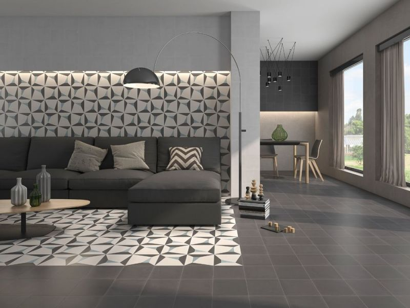 concept gris 20x20 carrelage imitation carreaux de ciment cas cemarica. Black Bedroom Furniture Sets. Home Design Ideas