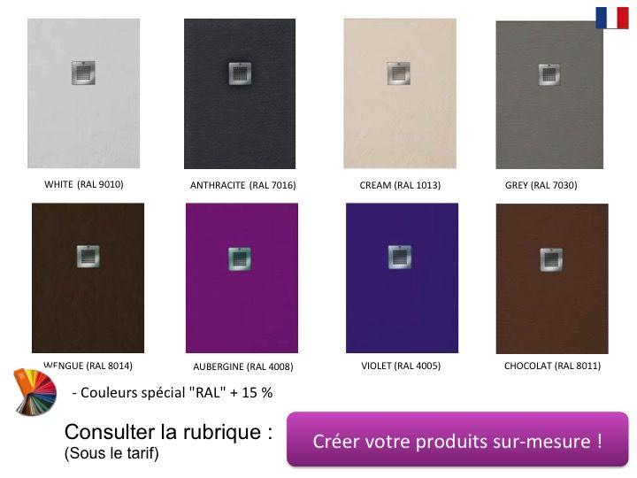 receveurs de douches longueur 115 receveur de douche en r sine sur mesure 115 cm petit. Black Bedroom Furniture Sets. Home Design Ideas