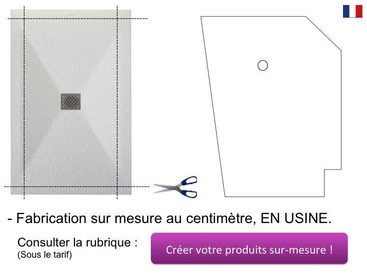 receveur de douche largeur 60 cm