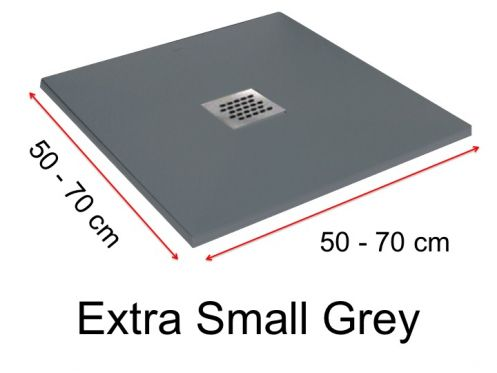 Receveurs de douches longueur 70 receveur de douche 70 for Carrelage 70x70 gris
