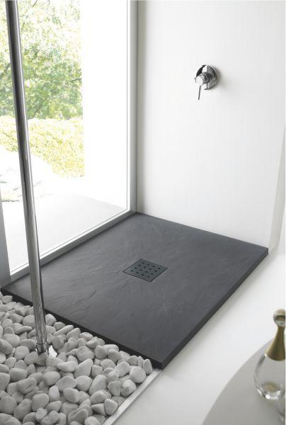 receveurs de douches longueur 200 receveur de douche 200 cm en r sine extra plat grand. Black Bedroom Furniture Sets. Home Design Ideas