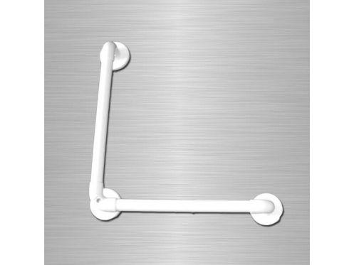 radiateur s che serviettes pmr accessoires barre d 39 appui lisse renforc e coud e 90 pmr. Black Bedroom Furniture Sets. Home Design Ideas