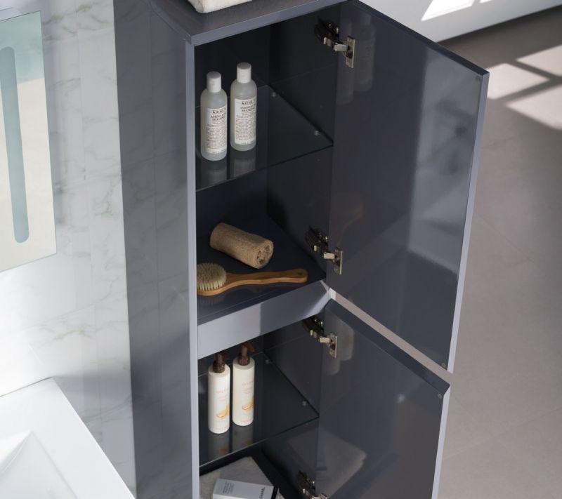 Meuble de salle de bain suspendu avec une vasque c ramique de 100 cm modena 1000 - Vasque salle de bain 100 cm ...