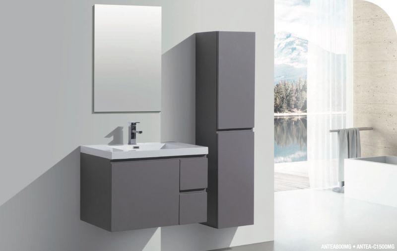 Meubles lave mains robinetteries meuble sdb meuble for Meubles suspendus salle de bain
