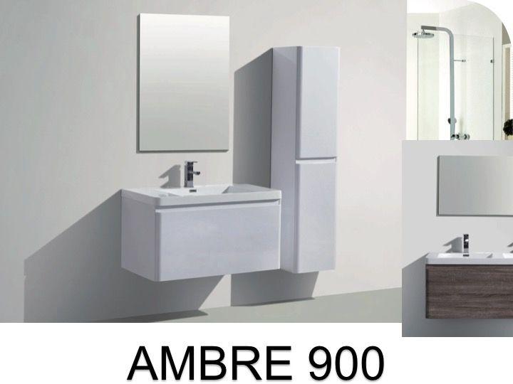 p 333216 3 meuble de salle de bains a suspendre 90 cm deux tiroirs   ambre 900 Résultat Supérieur 15 Nouveau Meuble De Salle De Bain A Suspendre Galerie 2017 Uqw1