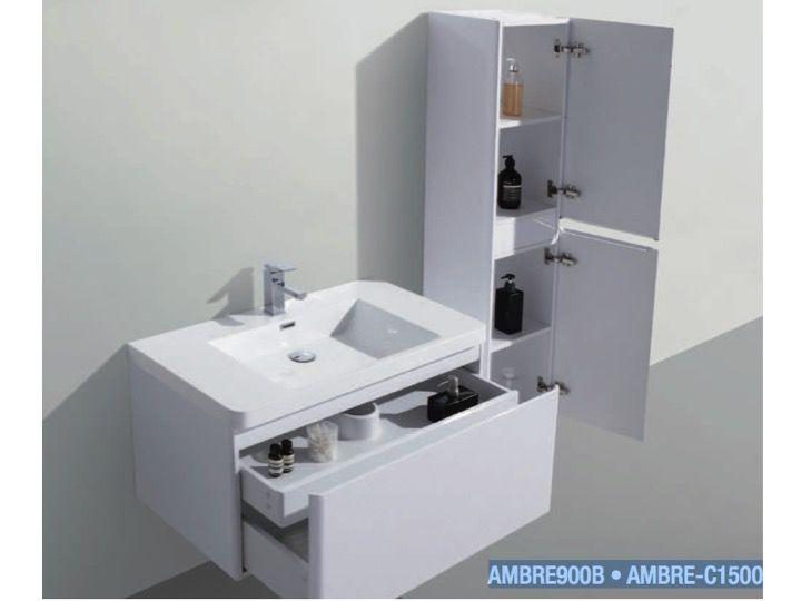 p 333221 3 meuble de salle de bains a suspendre 90 cm deux tiroirs   ambre 900 Résultat Supérieur 15 Nouveau Meuble De Salle De Bain A Suspendre Galerie 2017 Uqw1