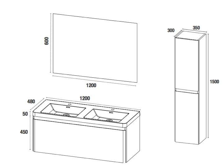 Meubles lave mains robinetteries meuble sdb meuble de for Meuble haut de salle de bain 2 portes a suspendre grimsby