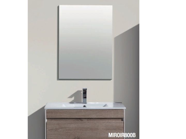 Meubles lave mains robinetteries meubles sdb meuble de - Meuble avec miroir salle de bain ...