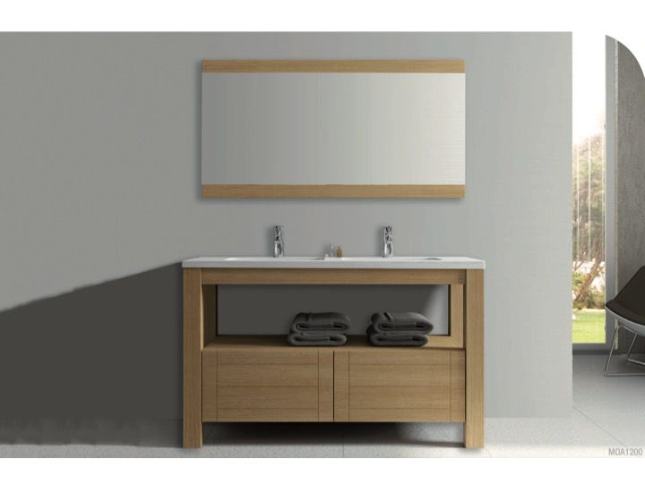 Meubles lave mains robinetteries meuble sdb meuble de for Meuble salle de bain en chene