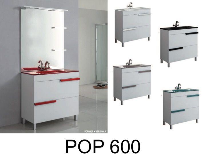 Meubles lave mains robinetteries meuble sdb meuble de for Salle de bain pop
