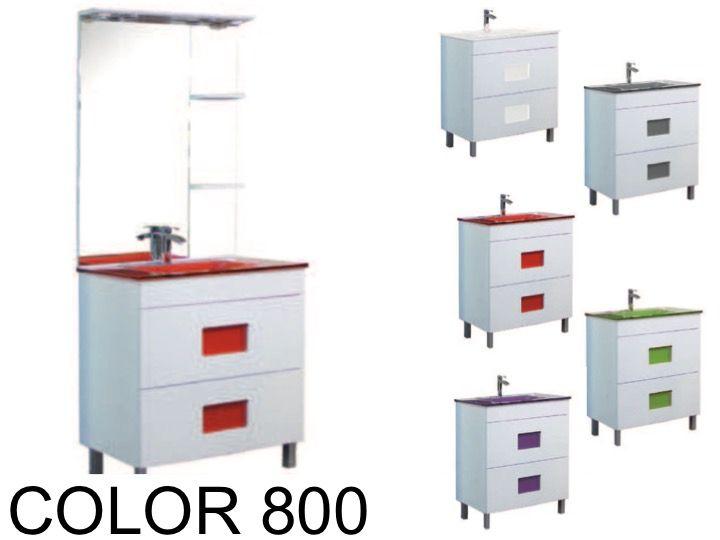meubles lave mains robinetteries meuble teck meuble de salle de bains poser avec vasque. Black Bedroom Furniture Sets. Home Design Ideas
