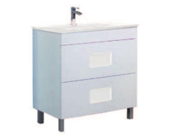Meubles lave mains robinetteries meubles sdb meuble de salle de bains poser avec double for Comconforama meuble de salle de bain avec vasque et miroir