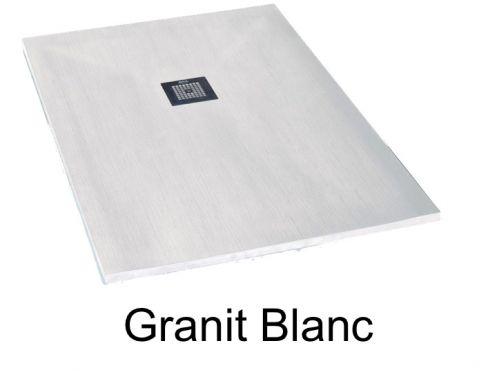 receveurs de douches longueur 130 receveur de douche 130 cm en r sine min ral de marbre petit. Black Bedroom Furniture Sets. Home Design Ideas