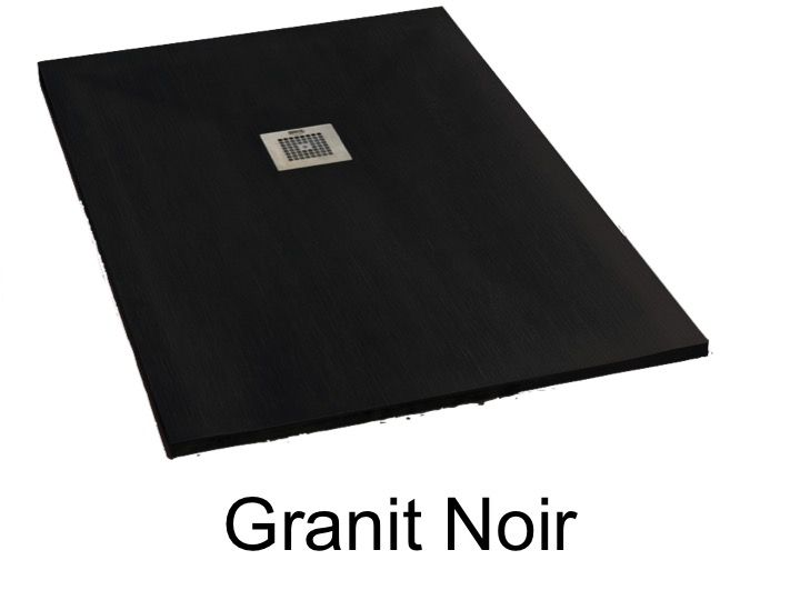 receveur de douche 150 cm en r sine min ral de marbre. Black Bedroom Furniture Sets. Home Design Ideas