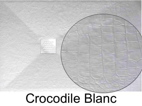 receveur de douche 110 cm en r sine min ral de marbre. Black Bedroom Furniture Sets. Home Design Ideas