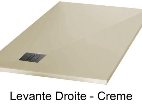receveurs de douches longueur 110 receveur de douche 110 cm en r sine min ral vacuation en. Black Bedroom Furniture Sets. Home Design Ideas