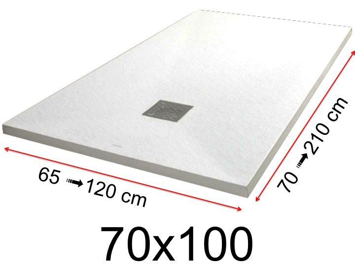receveurs de douches toutes tailles receveur de douche. Black Bedroom Furniture Sets. Home Design Ideas
