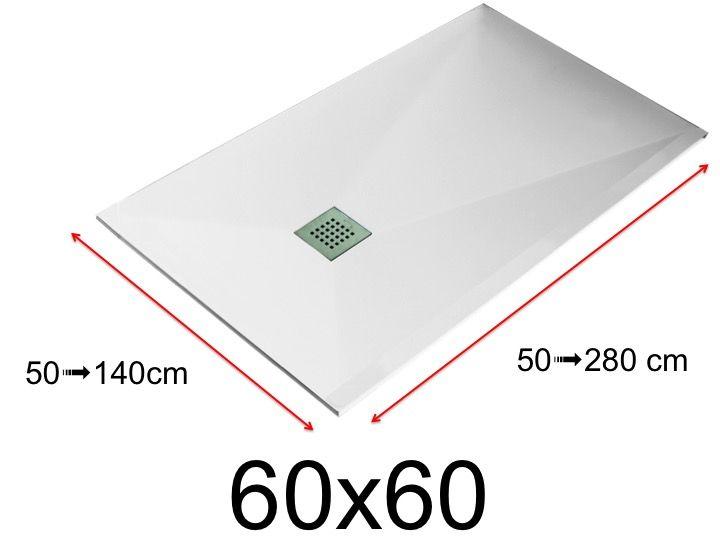 receveur de douche 600 x 600