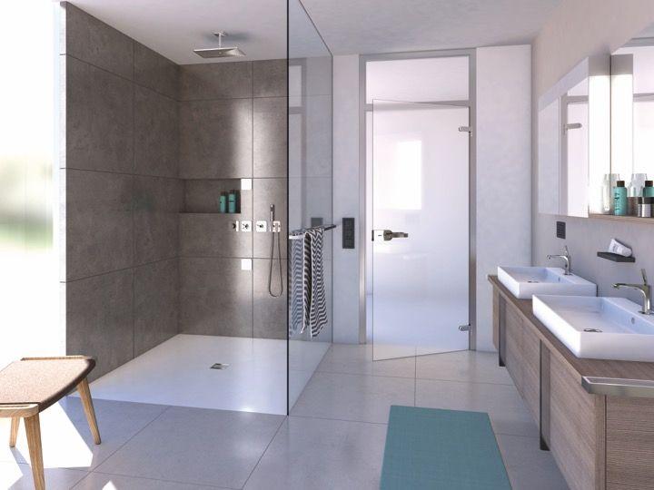 Receveurs de douches longueur 180 receveur de douche for Receveur de douche caniveau