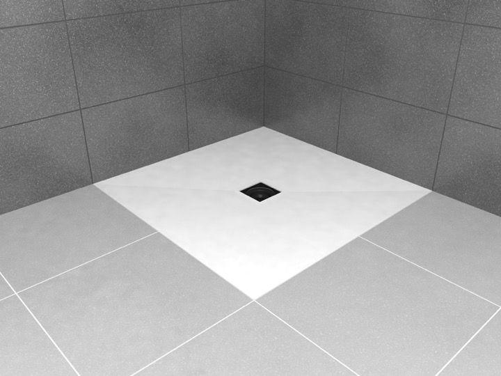 receveurs de douches longueur 180 receveur de douche wedi avec rev tement pr t poser en. Black Bedroom Furniture Sets. Home Design Ideas