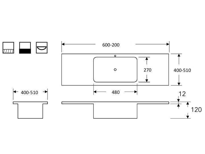 vasques corian type plan toilette avec vasque int gr e. Black Bedroom Furniture Sets. Home Design Ideas