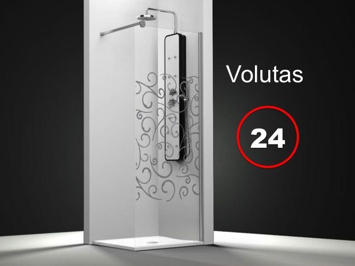 Paroi de douche longueur 50 paroi de douche fixe 50 x - Traitement anti calcaire paroi de douche ...