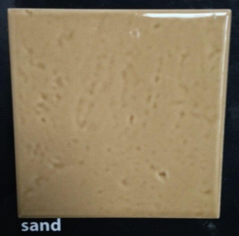 Carrelages mosa ques et galets cuisine mural sand for Carrelage mural cuisine 10x10