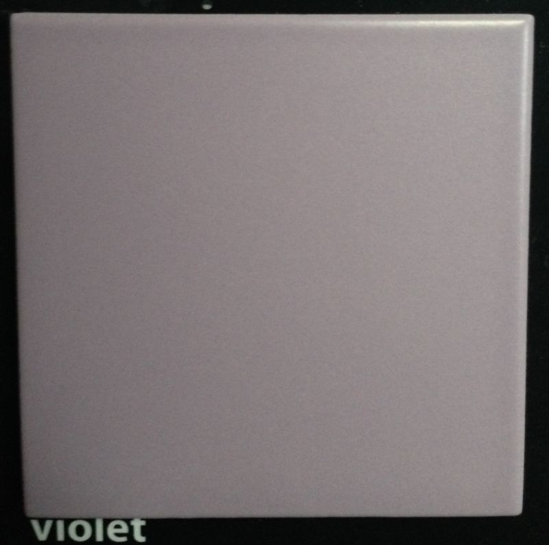 carrelages mosa ques et galets cuisine mural violet mate 10x10. Black Bedroom Furniture Sets. Home Design Ideas