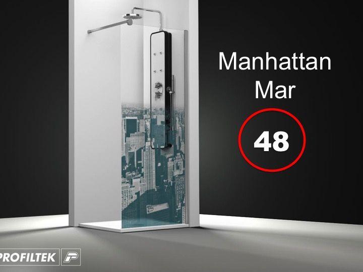 Paroi de douche longueur 135 paroi de douche fixe 135 x - Traitement anti calcaire paroi douche ...