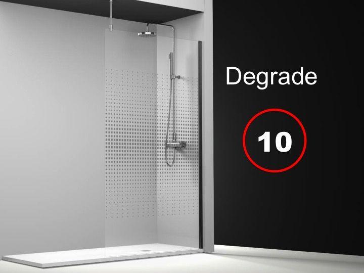 paroi de douche longueur 25 paroi de douche fixe 25x195 cm sur mesure barre stabilisatrice. Black Bedroom Furniture Sets. Home Design Ideas