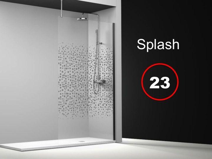 paroi de douche longueur 70 paroi de douche fixe 70x195 cm sur mesure barre stabilisatrice. Black Bedroom Furniture Sets. Home Design Ideas