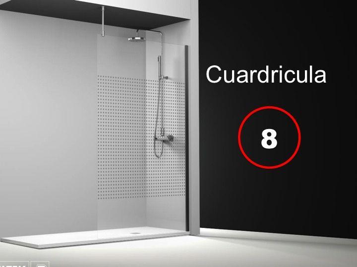 Paroi de douche longueur 120 paroi de douche fixe 120x195 cm sur mesure barre stabilisatrice - Barre de douche 120 cm ...