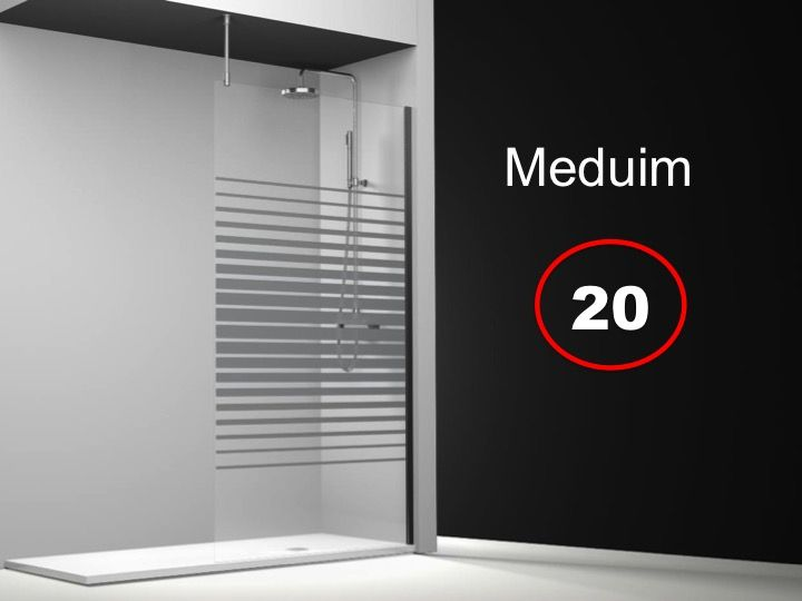 Paroi de douche longueur 135 paroi de douche fixe for Enlever calcaire sur carrelage douche