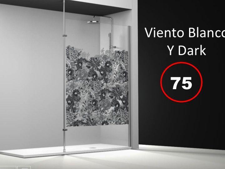 paroi de douche longueur 25 paroi de douche fixe 25x195. Black Bedroom Furniture Sets. Home Design Ideas