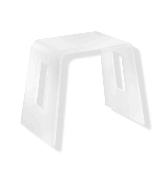 Radiateur s che serviettes pmr accessoires tabouret for Tabouret pour salle de bain