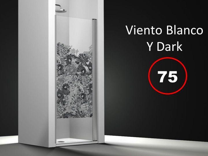 Paroi de douche longueur 45 porte de douche 45 x 195 cm sur mesure pivotante int rieur et - Porte de douche sur mesure ...