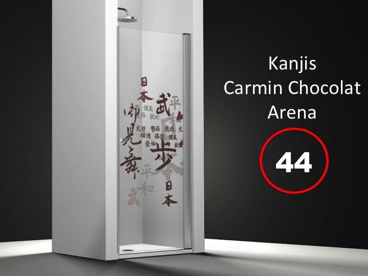 paroi de douche longueur 55 porte de douche 55 x 195 cm sur mesure pivotante int rieur et. Black Bedroom Furniture Sets. Home Design Ideas
