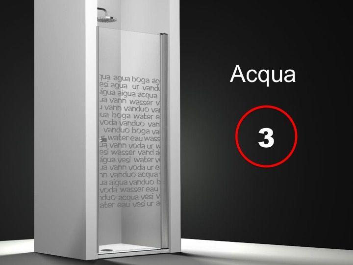 paroi de douche longueur 70 porte de douche 70 x 195 cm sur mesure pivotante int rieur et. Black Bedroom Furniture Sets. Home Design Ideas