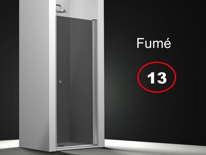 paroi de douche longueur 80 porte de douche 80 x 195 cm. Black Bedroom Furniture Sets. Home Design Ideas